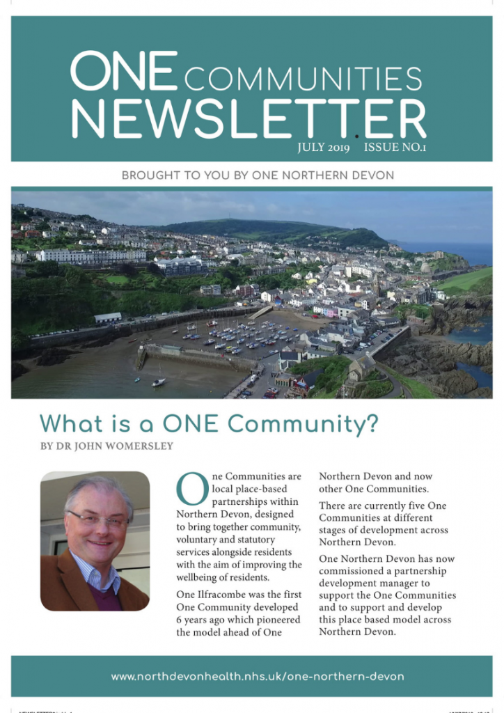 One Communities Newsletter Issue One
