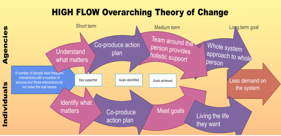 High Flow Overarching Theory of Change